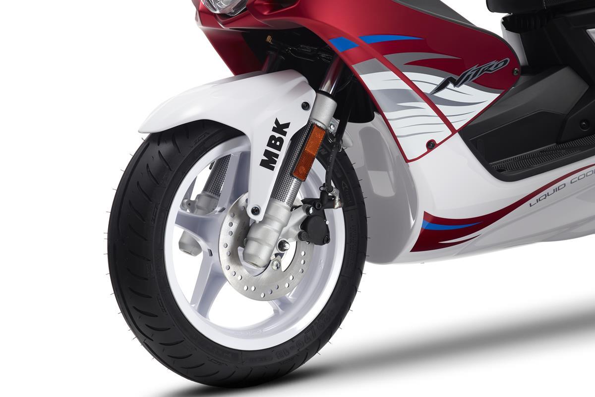 Le Nitro est équipé d'un système de rein à disque de 190 mm de diamètre