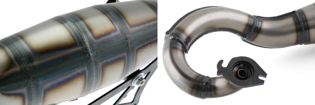 Corps en tôles d'acier roulées soudées – Bride à l'entrée du pot