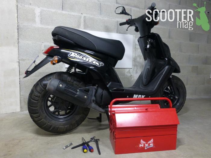 d brider un scooter tutoriel photos actualit s scooter par scooter mag. Black Bedroom Furniture Sets. Home Design Ideas