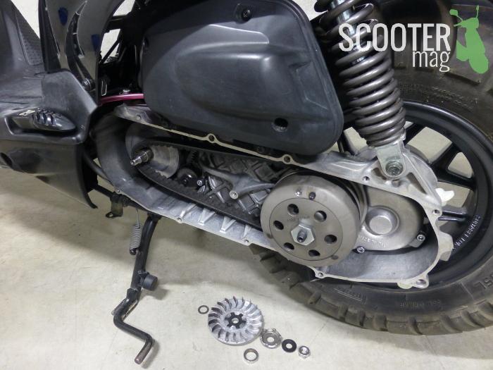 debridage-variateur-scoot-50-booster-bws